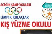 Marmaris Yıldızları Yüzme Kulübü ve Fenerbahçe Spor Kulübü Kış Yüzme Okulları da Açılıyor