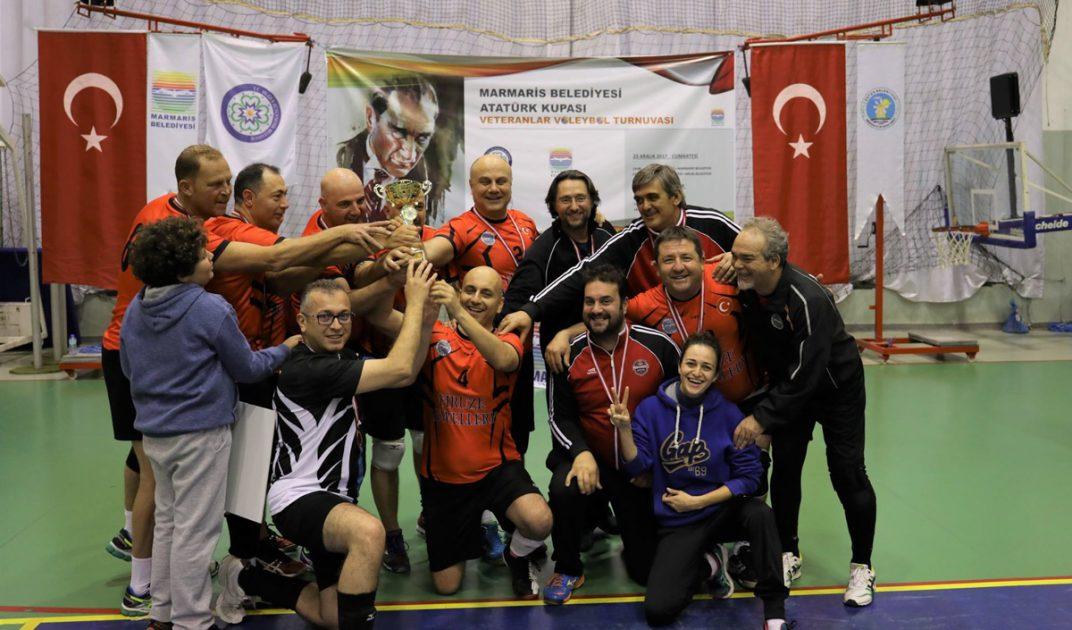Atatürk Kupası'nın Sahibi Marmaris Belediyesi Oldu