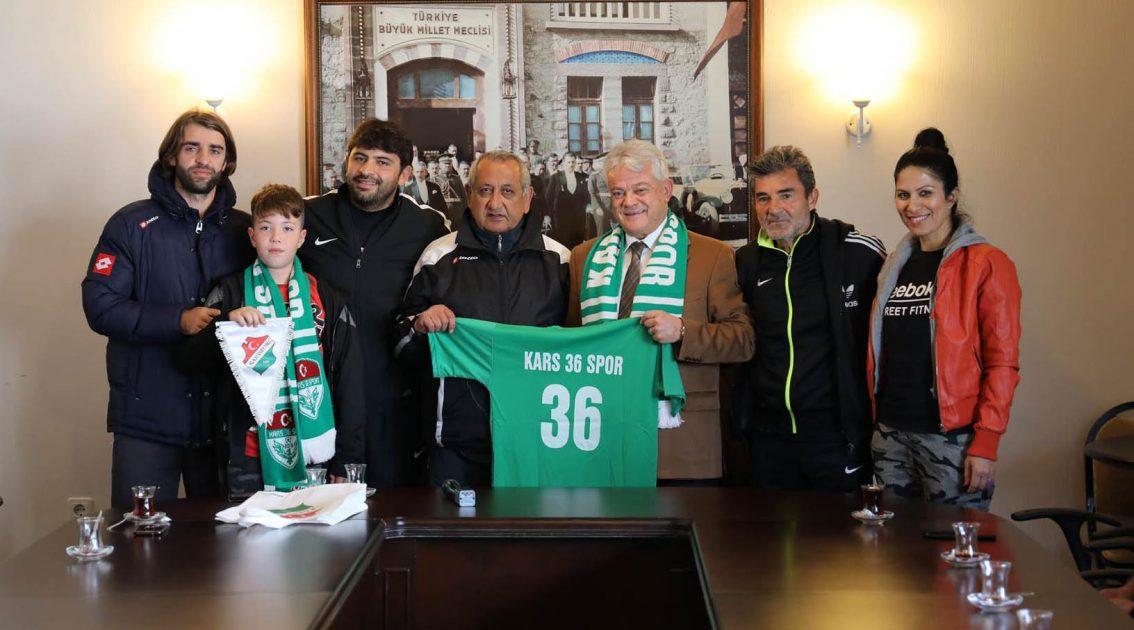 Karsspor'dan Başkan Acar'a Ziyaret